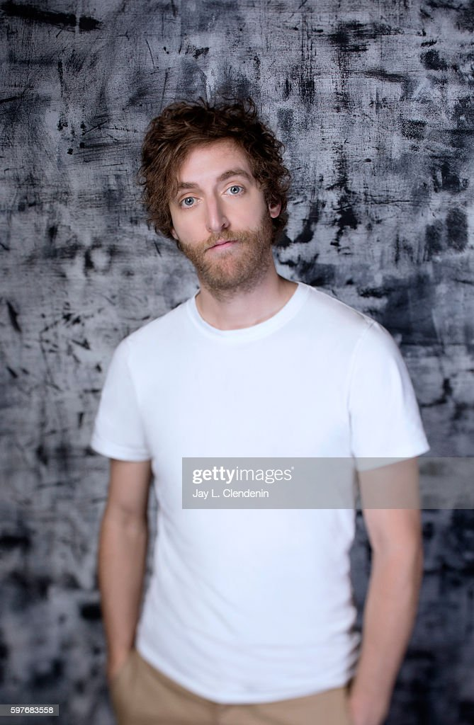 Actor Thomas Middleditch of 'Silicon Valley' is photographed for Los Angeles Times at San Diego Comic Con on July 22, 2016 in San Diego, California.