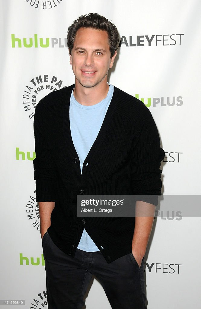 Actor Thomas Sadoski participates in The Paley Center For Media's PaleyFest 2013 Honoring 'The Newsroom' held at The Saban Theater on March 3, 2013 in Beverly Hills, California.