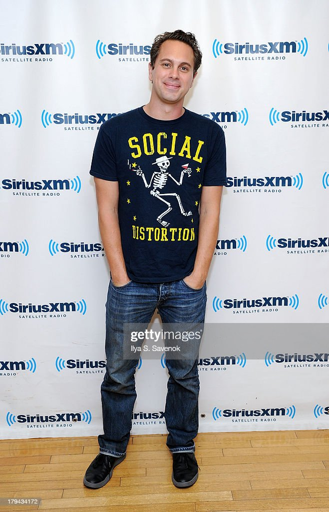 Actor <a gi-track='captionPersonalityLinkClicked' href=/galleries/search?phrase=Thomas+Sadoski&family=editorial&specificpeople=2853351 ng-click='$event.stopPropagation()'>Thomas Sadoski</a> visits SiriusXM Studios on September 3, 2013 in New York City.
