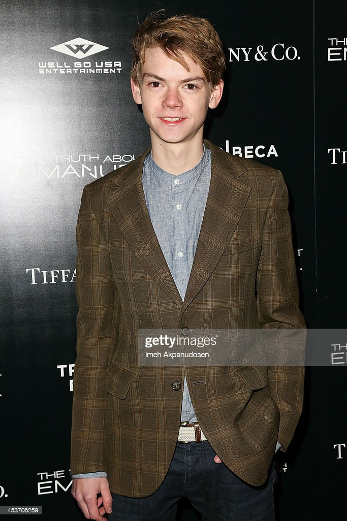 Actor <a gi-track='captionPersonalityLinkClicked' href=/galleries/search?phrase=Thomas+Sangster&family=editorial&specificpeople=879305 ng-click='$event.stopPropagation()'>Thomas Sangster</a> attends the premiere of Tribeca Film and Well Go USA's 'The Truth About Emanuel' at ArcLight Hollywood on December 4, 2013 in Hollywood, California.