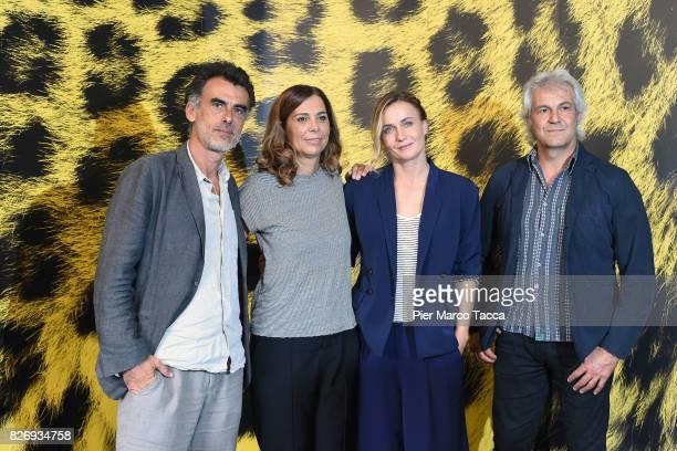 Actor Thomas Trabacchi Director Francesca Comencini Actress Lucia Mascino and Producer Domenico Procacci attend 'Amori che non sanno stare al mondo'...