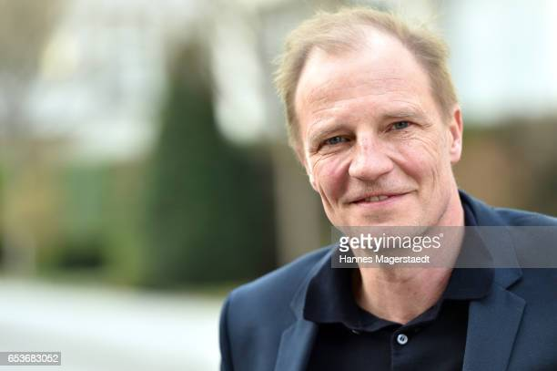 Actor Thorsten Nindel during the NdF after work press cocktail at Parkcafe on March 15 2017 in Munich Germany