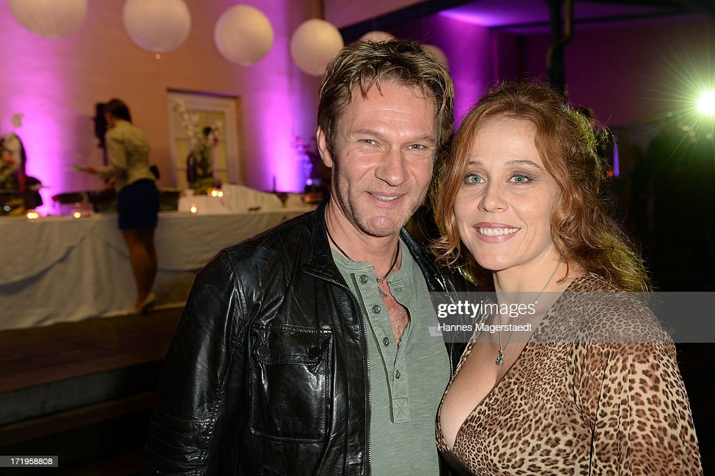 Actor Thure Riefenstein and his wife Patricia Lueger attend the Audi Director's Cut during the Munich Film Festival 2013 on June 29, 2013 in Munich, Germany.