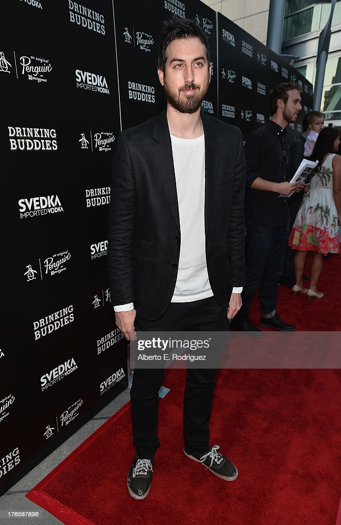Actor Ti West arrives for the screening of Magnolia Pictures' 'Drinking Buddies' at ArcLight Cinemas on August 15, 2013 in Hollywood, California.