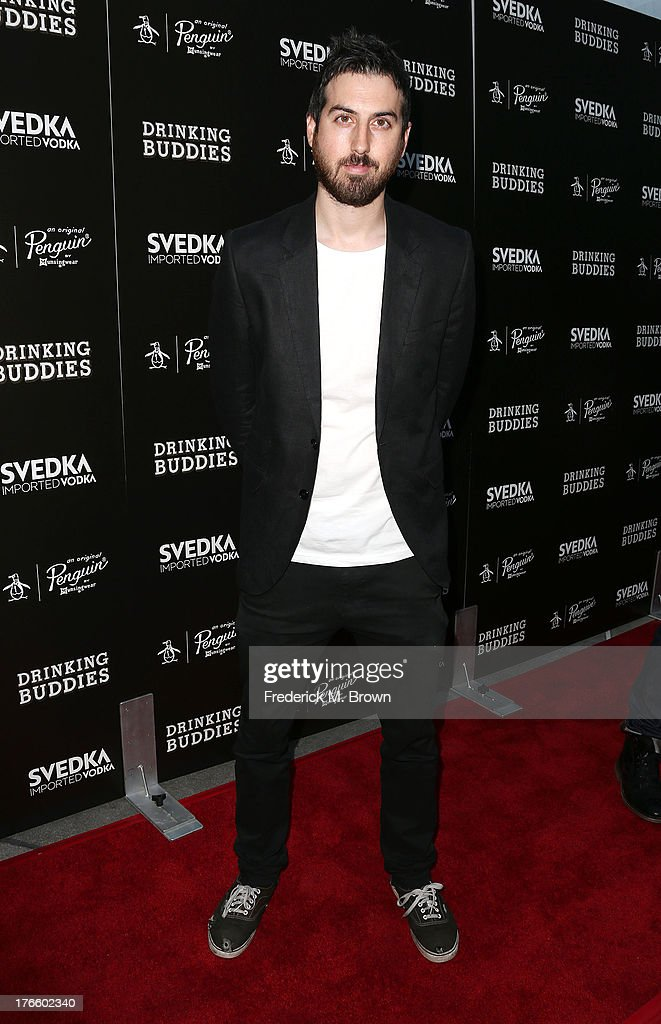 Actor Ti West attends the screening of Magnolia Pictures' 'Drinking Buddies' at the ArcLight Cinemas on August 15, 2013 in Hollywood, California.