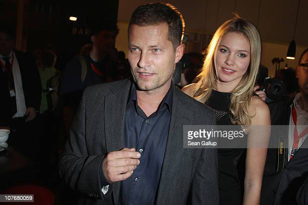 Actor Til Schweiger and his girlfriend Svenja Holtmann attend the 'Ein Herz Fuer Kinder' charity gala at Axel Springer Haus on December 18 2010 in...