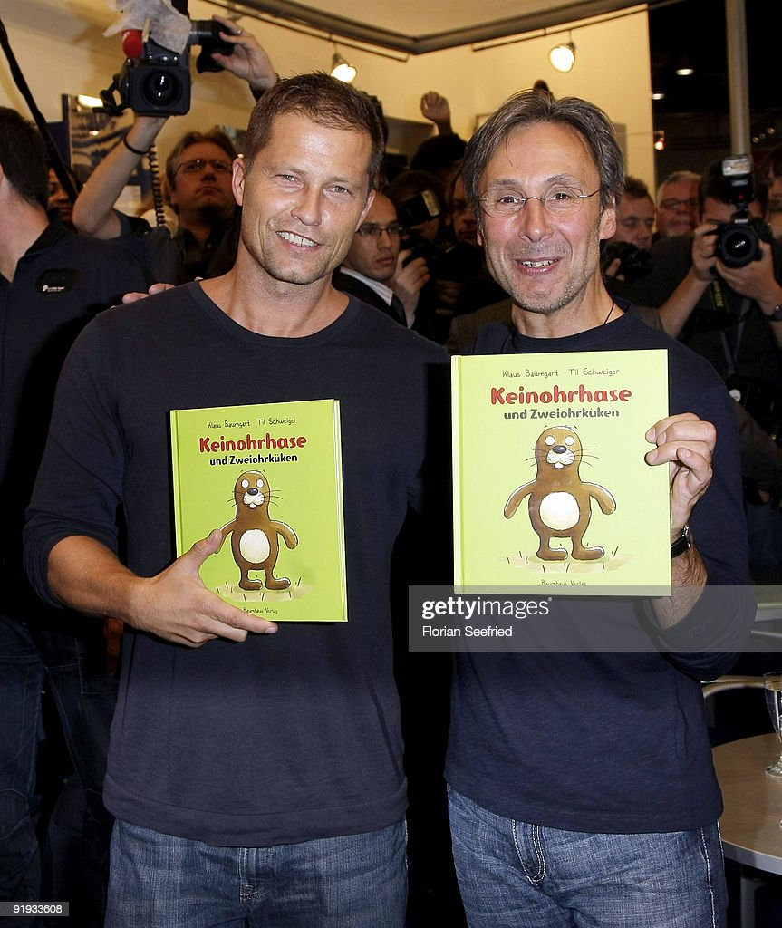 Til Schweiger Presents Book At Frankfurt Book Fair