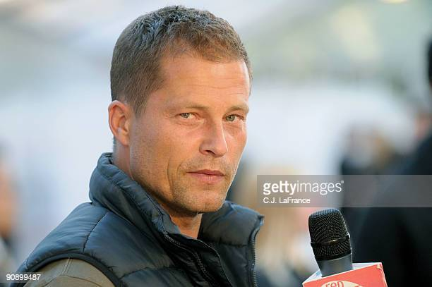 Actor Til Schweiger arrives at the 'Phantom Pain' screening during the 2009 Toronto International Film Festival held at Roy Thomson Hall on September...