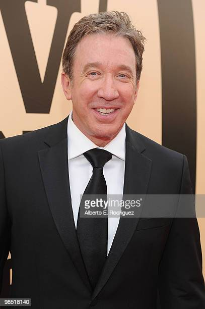 Actor Tim Allen arrives at the 8th Annual TV Land Awards at Sony Studios on April 17 2010 in Culver City California