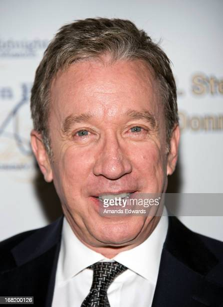 Actor Tim Allen arrives at the Midnight Mission's 'Golden Heart Awards' honoring Tim Allen and Jason Sinay at the Beverly Wilshire Four Seasons Hotel...