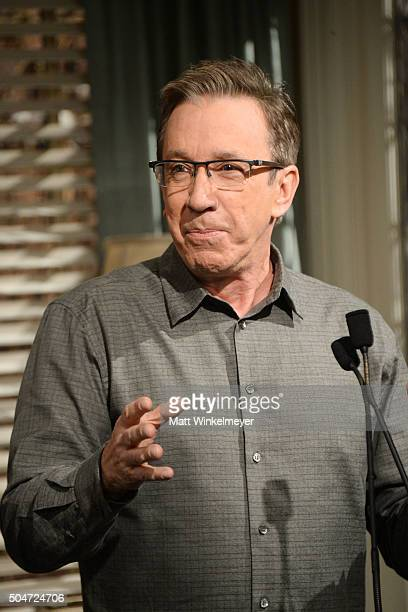 Actor Tim Allen attends the 100th episode celebration of ABC's 'Last Man Standing' at CBS Studios Radford on January 12 2016 in Studio City California