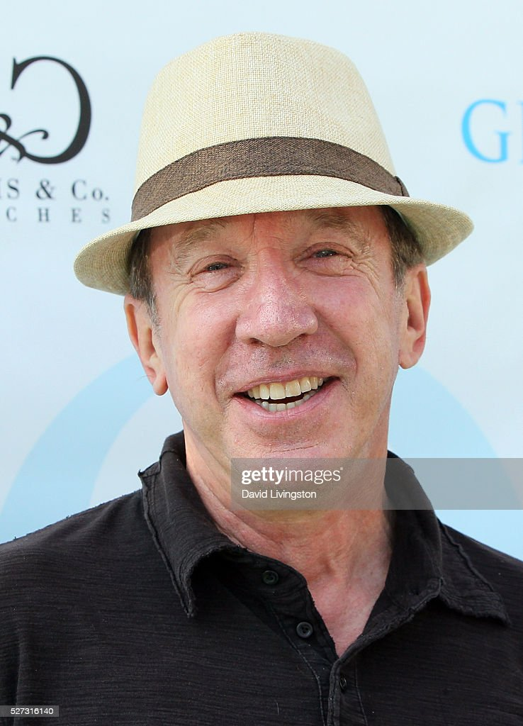 Actor <a gi-track='captionPersonalityLinkClicked' href=/galleries/search?phrase=Tim+Allen&family=editorial&specificpeople=206248 ng-click='$event.stopPropagation()'>Tim Allen</a> attends the Ninth Annual George Lopez Celebrity Golf Classic at Lakeside Golf Club on May 2, 2016 in Burbank, California.