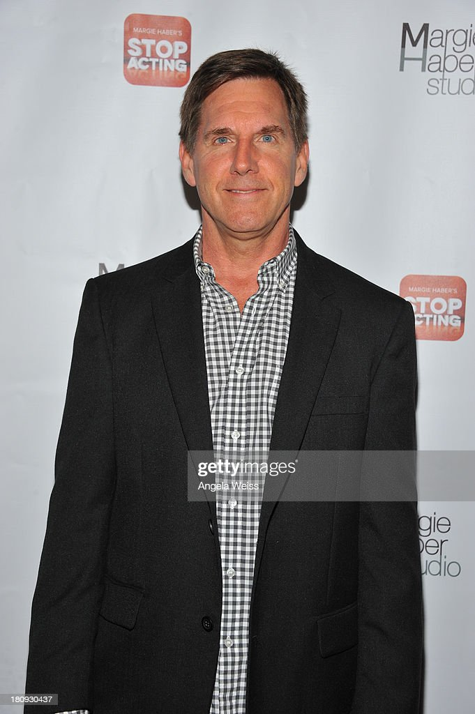 Actor Tim Bagley arrives at Margie Haber Studio's 'Stop Acting App: The Audition Class with Margie Haber' release launch party at Aventine Hollywood on September 17, 2013 in Hollywood, California.