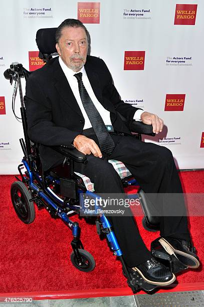 Actor Tim Curry attends The Actors Fund's 19th Annual Tony Awards viewing party at Skirball Cultural Center on June 7 2015 in Los Angeles California