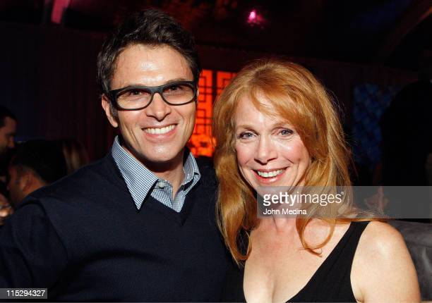 Actor Tim Daly and his wife Amy Van Nostrand attend the 'Dockers Final Round' event on February 9 2008 held at the Inn at Spanish Bay in Pebble Beach...