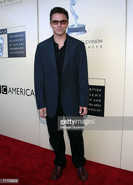 Actor Tim Daly arrives at the BAFTA/LAAcademy of Television Arts and Sciences Tea Party at the Century Hyatt on August 26 2006 in Century City...
