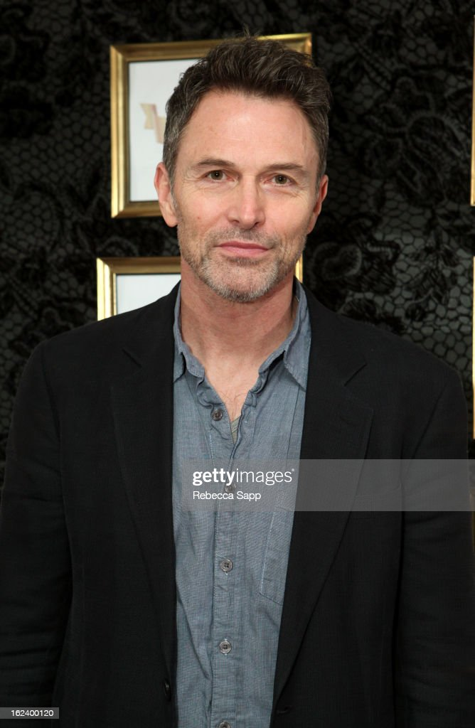 Actor <a gi-track='captionPersonalityLinkClicked' href=/galleries/search?phrase=Tim+Daly&family=editorial&specificpeople=206405 ng-click='$event.stopPropagation()'>Tim Daly</a> at GBK's Oscars Gift Lounge 2013 - Day 1 at Sofitel Hotel on February 22, 2013 in Los Angeles, California.