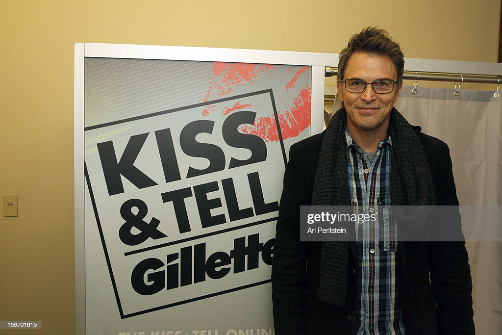 Actor <a gi-track='captionPersonalityLinkClicked' href=/galleries/search?phrase=Tim+Daly&family=editorial&specificpeople=206405 ng-click='$event.stopPropagation()'>Tim Daly</a> attends Day 1 of Gillette Ask Couples at Sundance to 'Kiss & Tell' if They Prefer Stubble or Smooth Shaven on January 18, 2013 in Park City, Utah.