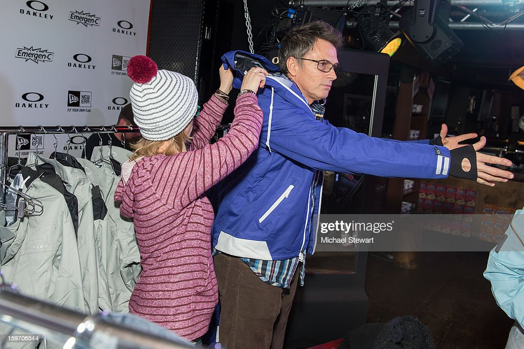 Actor Tim Daly attends Oakley Learn To Ride In Collaboration With New Era - Day 1 - 2013 Park City on January 18, 2013 in Park City, Utah.