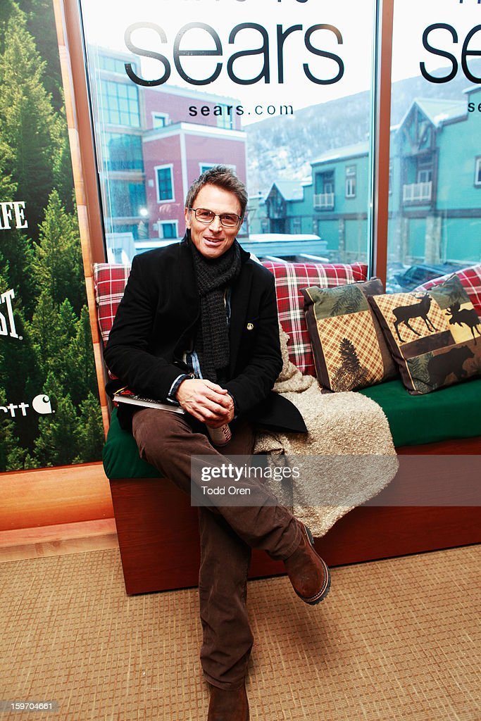 Actor <a gi-track='captionPersonalityLinkClicked' href=/galleries/search?phrase=Tim+Daly&family=editorial&specificpeople=206405 ng-click='$event.stopPropagation()'>Tim Daly</a> attends Sears Shop Your Way Digital Recharge Lounge on January 18, 2013 in Park City, Utah.