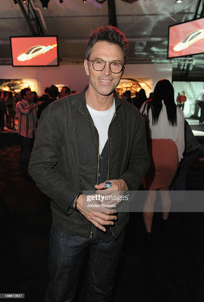 Actor <a gi-track='captionPersonalityLinkClicked' href=/galleries/search?phrase=Tim+Daly&family=editorial&specificpeople=206405 ng-click='$event.stopPropagation()'>Tim Daly</a> attends Tesla Worldwide Debut of Model X on February 9, 2012 in Los Angeles, California.