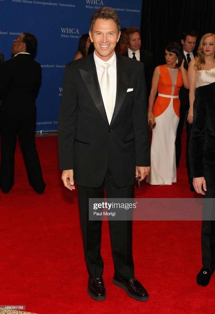 Actor <a gi-track='captionPersonalityLinkClicked' href=/galleries/search?phrase=Tim+Daly&family=editorial&specificpeople=206405 ng-click='$event.stopPropagation()'>Tim Daly</a> attends the 100th Annual White House Correspondents' Association Dinner at the Washington Hilton on May 3, 2014 in Washington, DC.