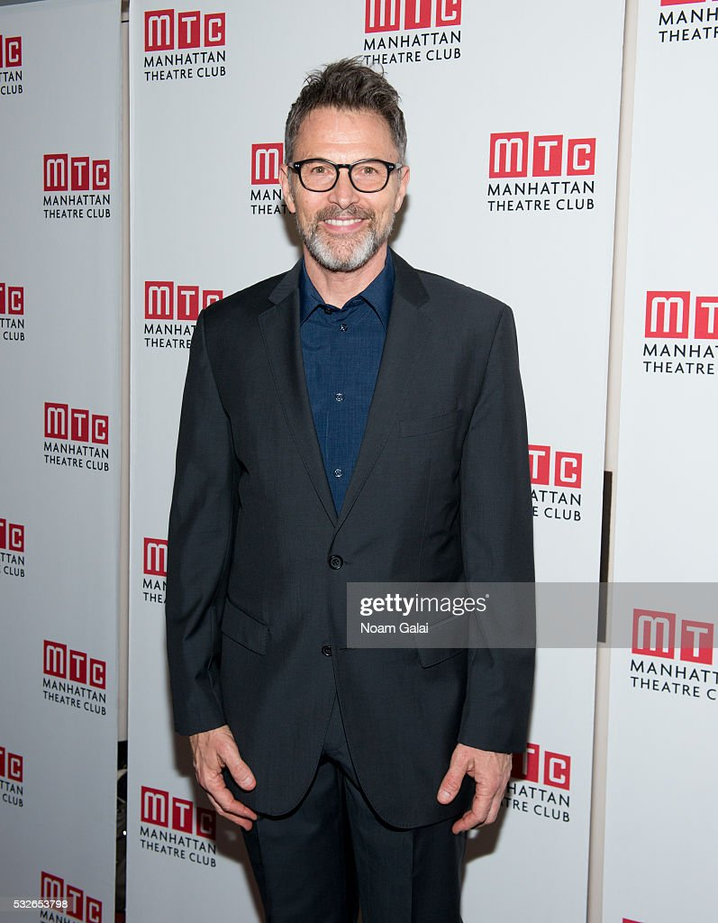 Actor Tim Daly attends the opening night of 'The Ruins Of Civilization' at New York City Center on May 18, 2016 in New York City.