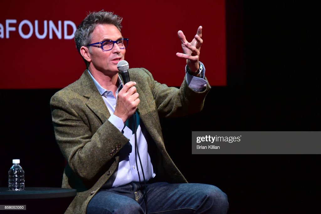 Actor Tim Daly attends the Q&A portion of the AG-AFTRA Foundation Conversations: 'Madam Secretary' + Tim Daly at The Robin Williams Center on October 5, 2017 in New York City.