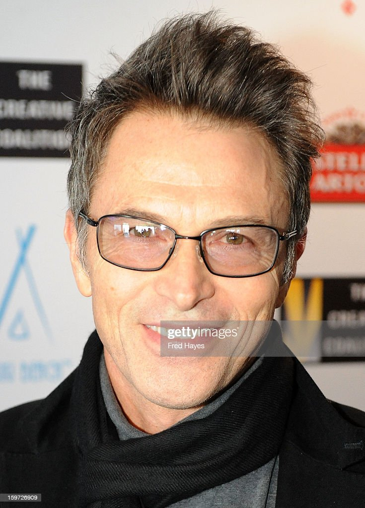 Actor <a gi-track='captionPersonalityLinkClicked' href=/galleries/search?phrase=Tim+Daly&family=editorial&specificpeople=206405 ng-click='$event.stopPropagation()'>Tim Daly</a> attends the Sundance Film Festival: Creative Coalition Luncheon at The Sky Lodge during the 2013 Sundance Film Festival on January 19, 2013 in Park City, Utah.