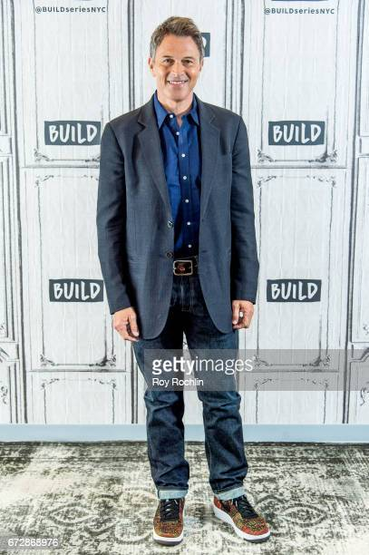 Actor Tim Daly discusses the Creative Coalition with the Build Series at Build Studio on April 25 2017 in New York City