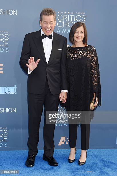 Actor Tim Matheson and actress Meghan Murphy arrive at The 22nd Annual Critics' Choice Awards at Barker Hangar on December 11 2016 in Santa Monica...