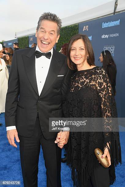 Actor Tim Matheson and actress Meghan Murphy attends The 22nd Annual Critics' Choice Awards at Barker Hangar on December 11 2016 in Santa Monica...