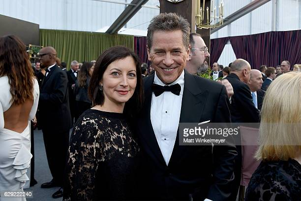 Actor Tim Matheson and guest attend The 22nd Annual Critics' Choice Awards at Barker Hangar on December 11 2016 in Santa Monica California