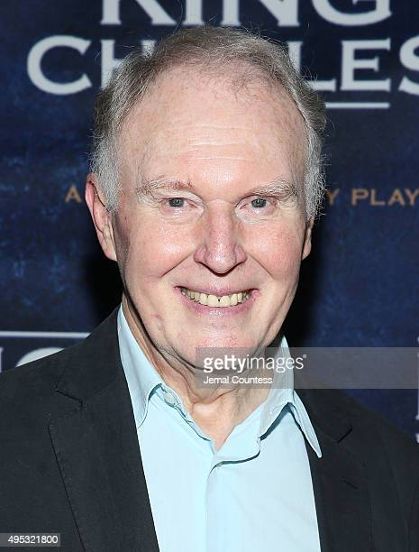 Actor Tim PigottSmith attends the 'King Charles III' Broadway opening night after party at the Bryant Park Grill on November 1 2015 in New York City
