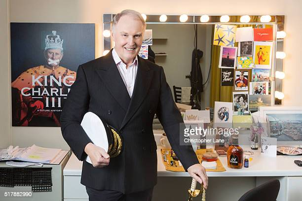 Actor Tim PigottSmith is photographed for Daily Mail Weekend Magazine on November 27 2015 in New York City
