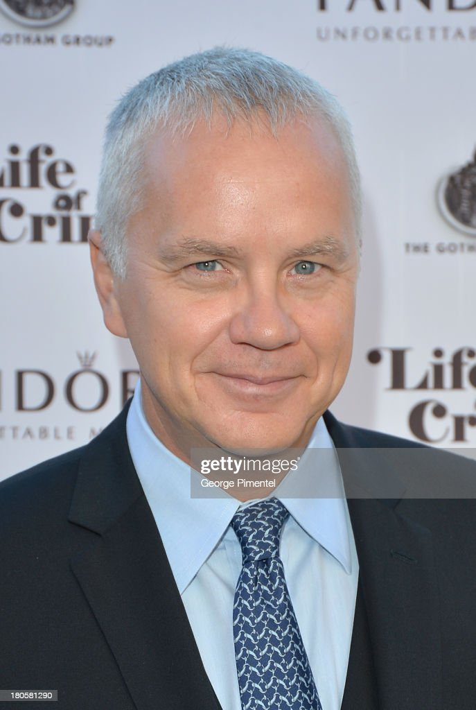 Actor <a gi-track='captionPersonalityLinkClicked' href=/galleries/search?phrase=Tim+Robbins&family=editorial&specificpeople=182439 ng-click='$event.stopPropagation()'>Tim Robbins</a> attends the 'Life of Crime' cocktail reception presented by PANDORA Jewelry at Hudson Kitchen during the 2013 Toronto International Film Festival on September 14, 2013 in Toronto, Canada.