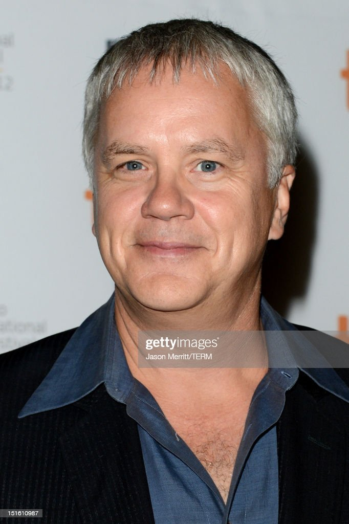 Actor <a gi-track='captionPersonalityLinkClicked' href=/galleries/search?phrase=Tim+Robbins&family=editorial&specificpeople=182439 ng-click='$event.stopPropagation()'>Tim Robbins</a> attends the 'Thanks For Sharing' premiere during the 2012 Toronto International Film Festival at Ryerson Theatre on September 8, 2012 in Toronto, Canada.