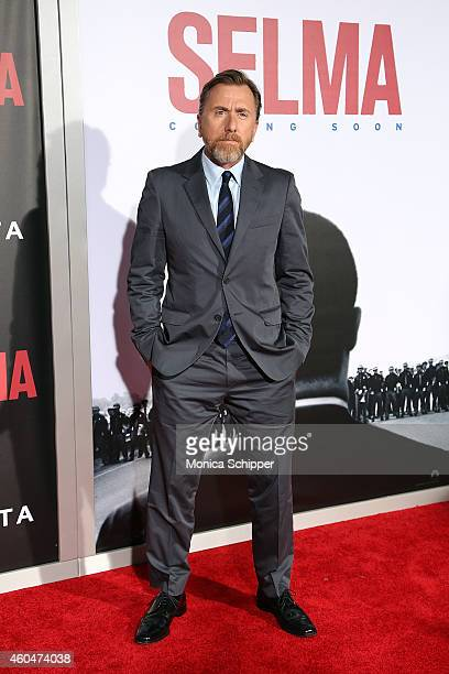 Actor Tim Roth attends 'Selma' New York Premiere Inside Arrivals at Ziegfeld Theater on December 14 2014 in New York City