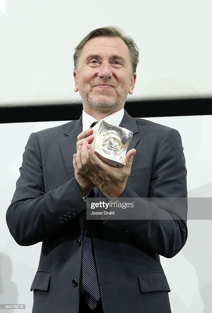 Actor Tim Roth attends The 13th Annual Morelia International Film Festival on October 25, 2015 in Morelia, Mexico.