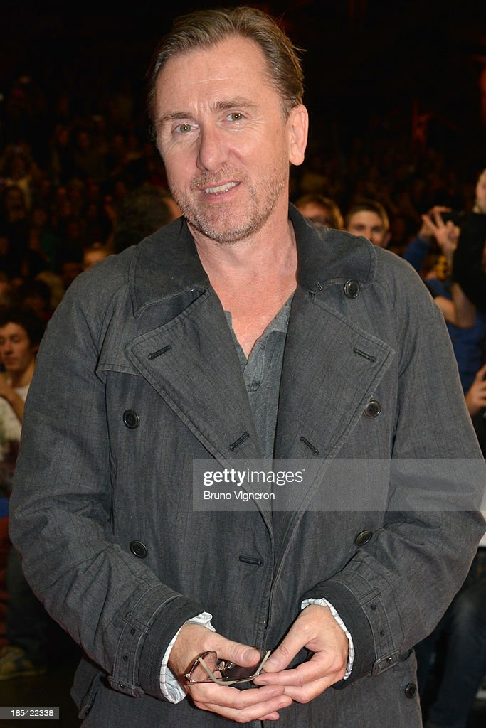 Actor <a gi-track='captionPersonalityLinkClicked' href=/galleries/search?phrase=Tim+Roth&family=editorial&specificpeople=213197 ng-click='$event.stopPropagation()'>Tim Roth</a> attends the closing ceremony of 'Lumiere 2013, Grand Lyon Film Festival' on October 20, 2013 in Lyon, France.