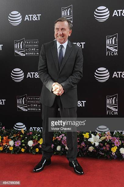 Actor Tim Roth attends the Morelia International Film Festival on October 25 2015 in Morelia Mexico