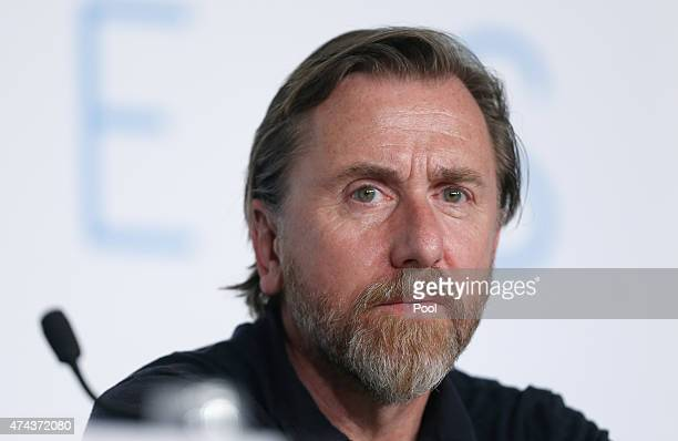 Actor Tim Roth attends the press conference for 'Chronic' during the 68th annual Cannes Film Festival on May 22 2015 in Cannes France