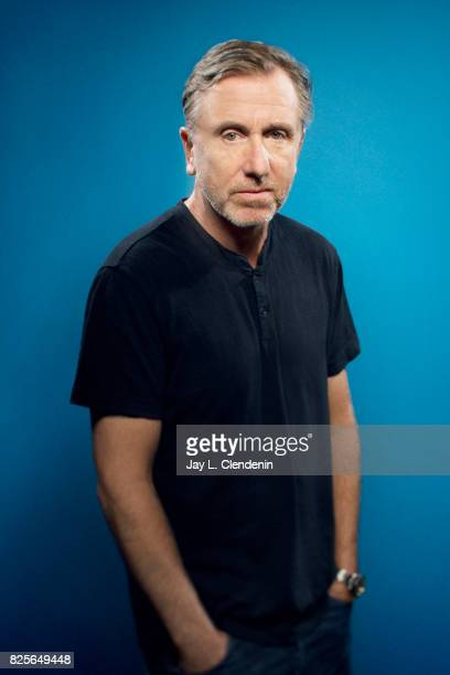 Actor Tim Roth from the television series 'Twin Peaks' is photographed in the LA Times photo studio at ComicCon 2017 in San Diego CA on July 21 2017...