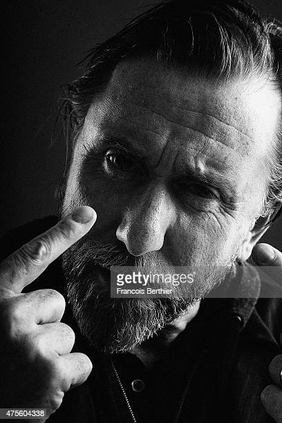 Actor Tim Roth is photographed on May 23 2015 in Cannes France