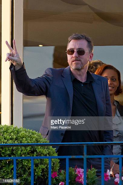 Actor Tim Roth is spotted during the' Cannes Film Festival' jury dinner on May 15 2012 in Cannes France