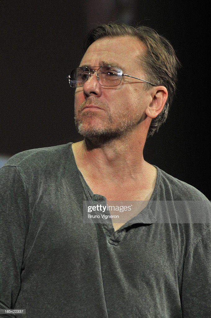 Actor Tim Roth on stage during the closing ceremony of 'Lumiere 2013, Grand Lyon Film Festival' on October 20, 2013 in Lyon, France.