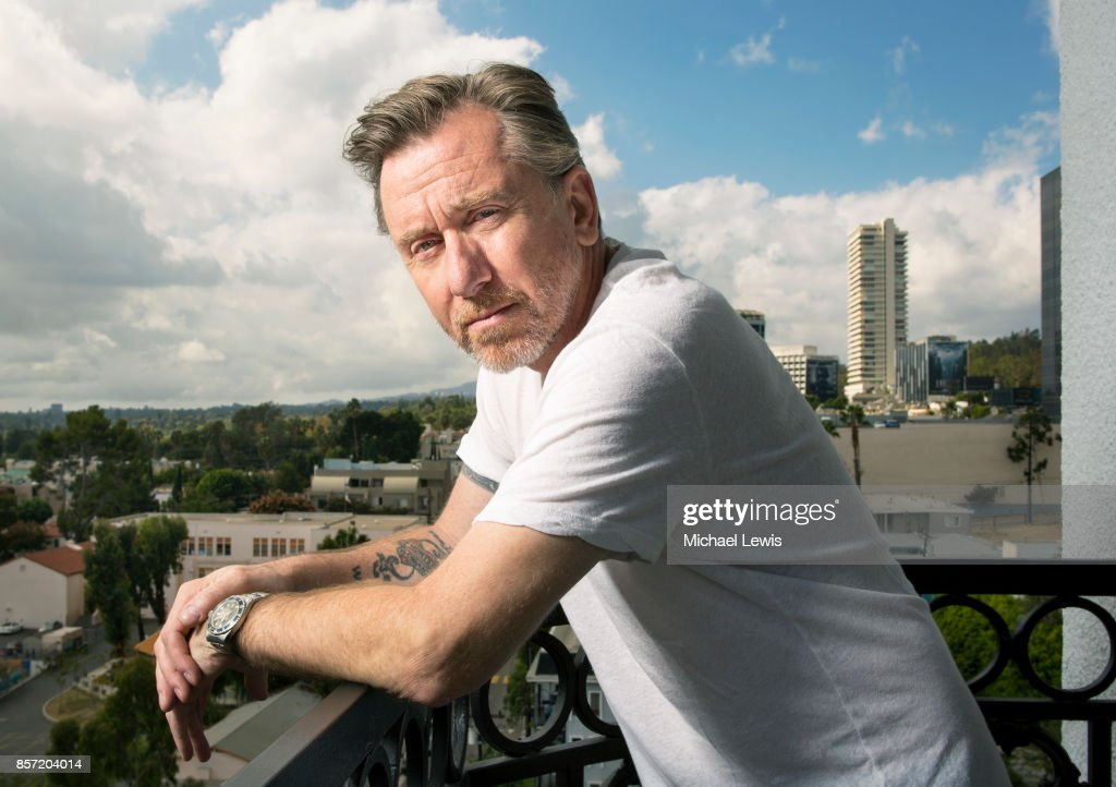 Actor Tim Roth photographed for New York Observer on November 2, 2015, in Los Angeles, California. PUBLISHED