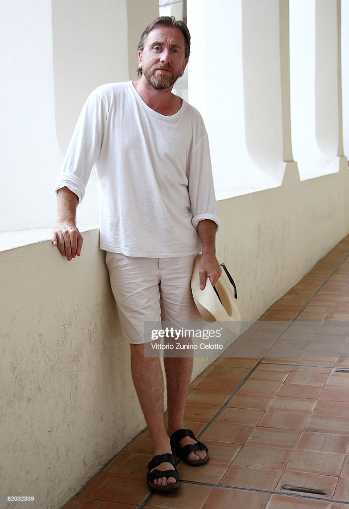 Actor Tim Roth poses in the cloister of San Francesco Convent during the Giffoni Film Festival on July 19, 2008 in Giffoni, Italy.