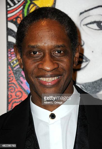 Actor Tim Russ attends 5th Annual Indie Series Awards held at El Portal Theatre on April 2 2014 in North Hollywood California