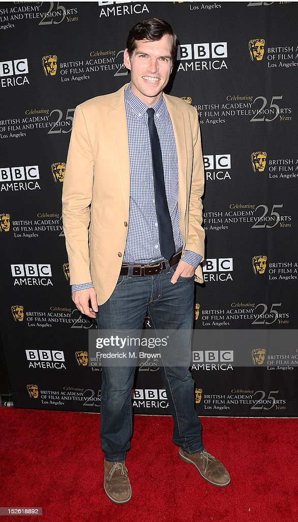 Actor Tim Simons attends BAFTA LA TV Tea 2012 Presented By BBC America at The London Hotel Hollywood on September 22, 2012 in West Hollywood, California.